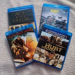 Action Adventure Blue Rays Bundle Pack